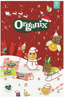 * Organix Advent Calendar