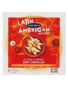Corn & Wheat Soft Tortillas